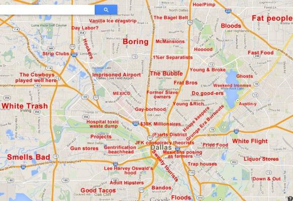Dallas Judgmental Map